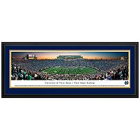 Notre Dame Fighting Irish Football Stadium Twilight Framed Wall Art