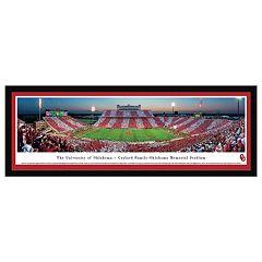 Oklahoma Sooners Football Stadium Framed Wall Art