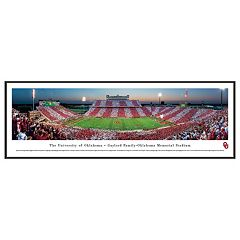 Oklahoma Sooners Football Stadium Framed Wall Art