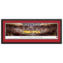 Oklahoma Sooners Basketball Arena Framed Wall Art