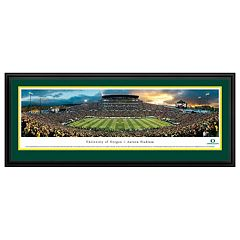 Oregon Ducks Football Stadium Framed Wall Art