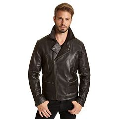Men's Excelled Leather Moto Jacket