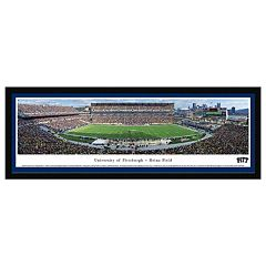 Pitt Panthers Football Stadium Night Framed Wall Art