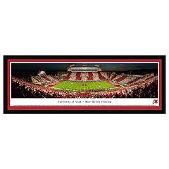 Utah Utes Football Stadium Framed Wall Art