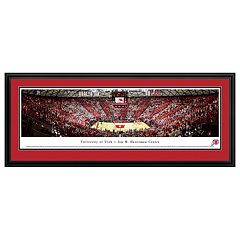 Utah Utes Basketball Arena Framed Wall Art