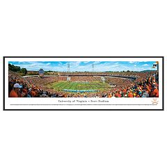 Virginia Cavaliers Football Stadium Framed Wall Art