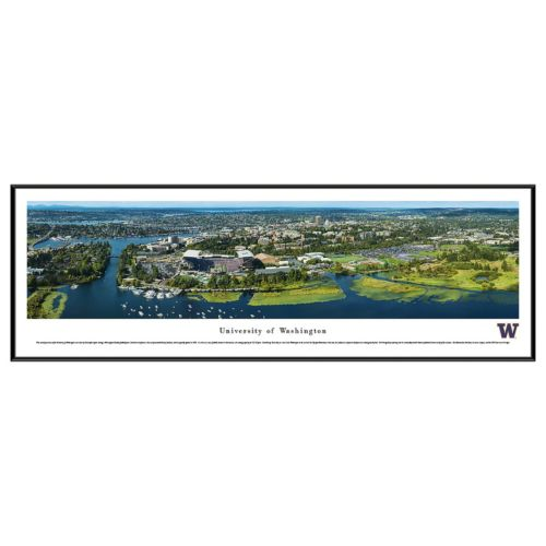 University of Washington Aerial Framed Wall Art