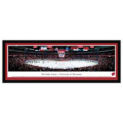 Wisconsin Badgers Hockey Arena Framed Wall Art