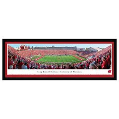 Wisconsin Badgers Football Stadium Framed Wall Art