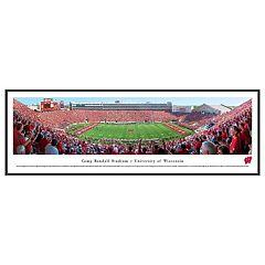 Wisconsin Badgers Football Stadium Framed Wall Art