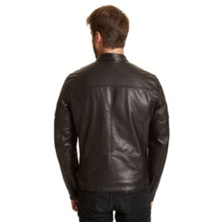 Big & Tall Excelled Leather Racer Jacket