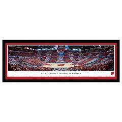 Wisconsin Badgers Basketball Arena Framed Wall Art