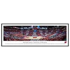 Wisconsin Badgers Basketball Arena Framed Wall Art