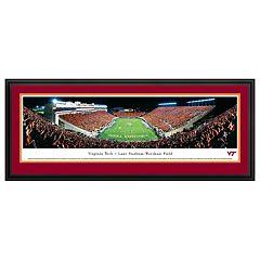 Virginia Tech Hokies Football Stadium Framed Wall Art