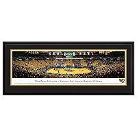 Wake Forest Demon Deacons Basketball Arena Framed Wall Art