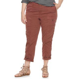 Plus Size SONOMA Goods for Life™ Diana Comfort Waist Capris