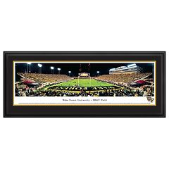 Wake Forest Demon Deacons Football Stadium Framed Wall Art