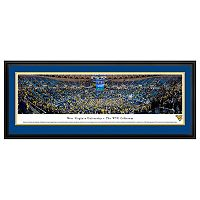 West Virginia Mountaineers Basketball Arena Framed Wall Art