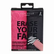 Danielle Creations Erase Your Face 2 pkReusable Makeup Removing Cloth