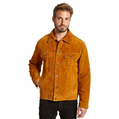 Big & Tall Excelled Suede Jacket