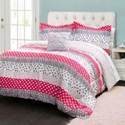 Lush Decor Franny Reversible Comforter Set