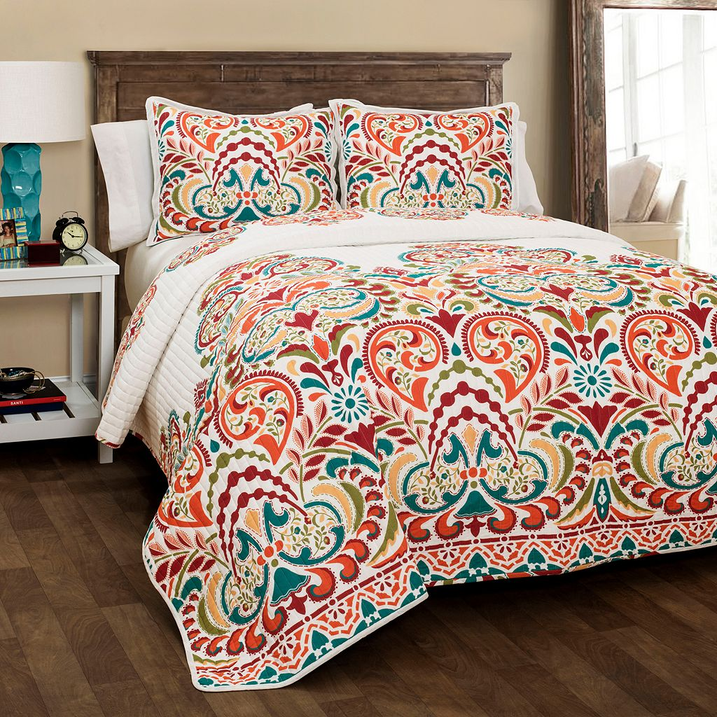 Lush Decor Clara 3-piece Reversible Quilt Set