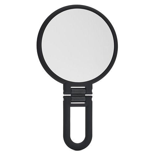 Danielle Creations Soft Touch Handheld Mirror - Black