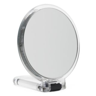 Danielle Creations Soft Touch Handheld Mirror - Clear