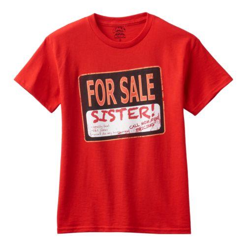Boys 8-20 Sister for Sale Tee