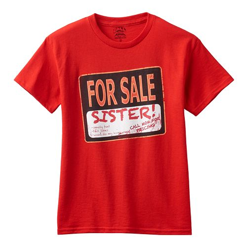 Boys 8-20 Sister for Sale Tee