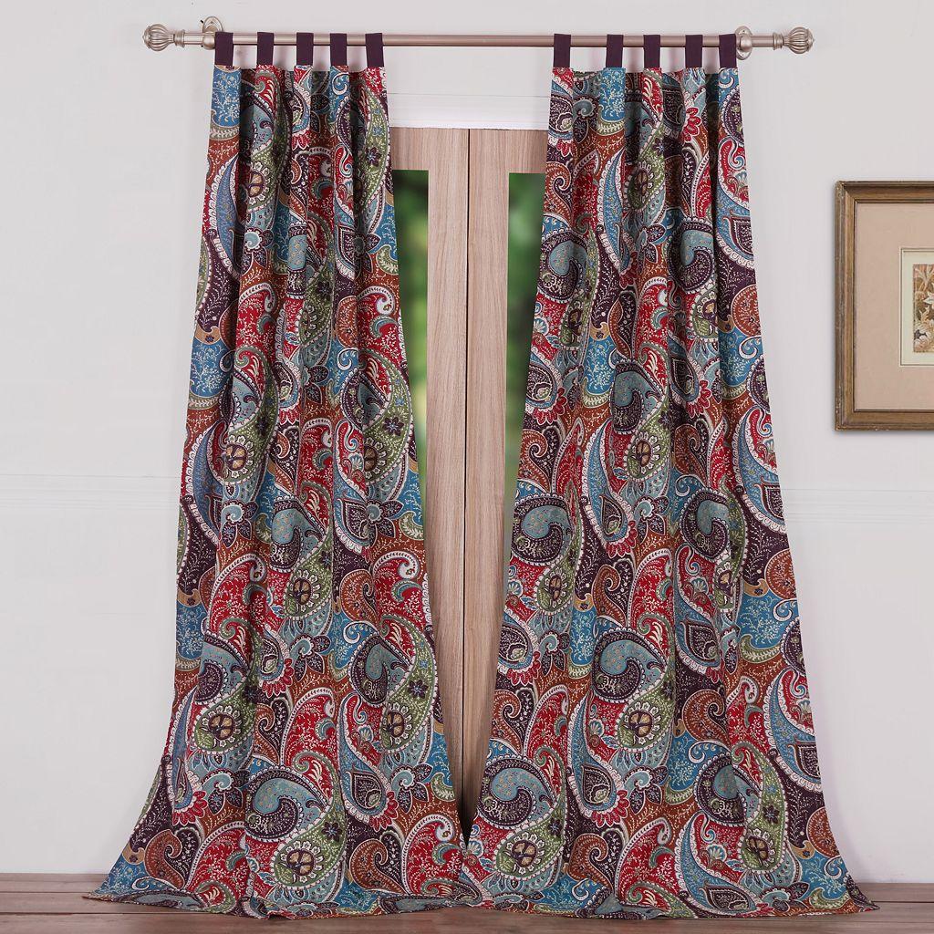 Greenland Home Fashions 2-pack Tivoli Curtains