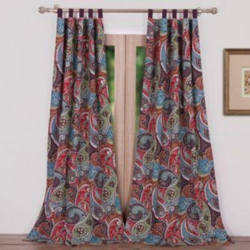 Greenland Home Fashions 2-pack Tivoli Window Curtains