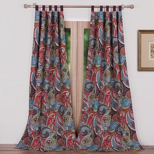 Greenland Home Fashions 2-pack Tivoli Window Curtains