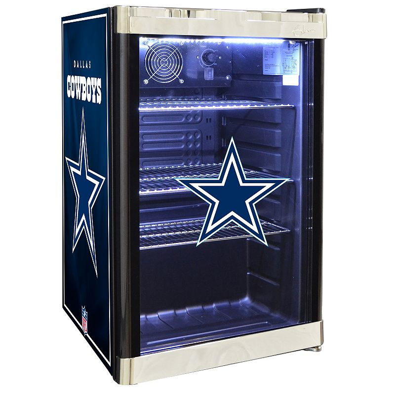 Nfl Dallas Cowboys 4 6 Cu Ft Refrigerated Beverage