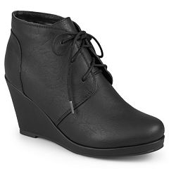 Journee Collection Gentry Women's Wedge Ankle Boots