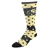 Women's Colorado Buffaloes Dotted Line Knee-High Socks