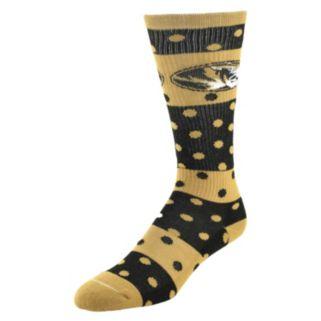 Women's Missouri Tigers Dotted Line Knee-High Socks