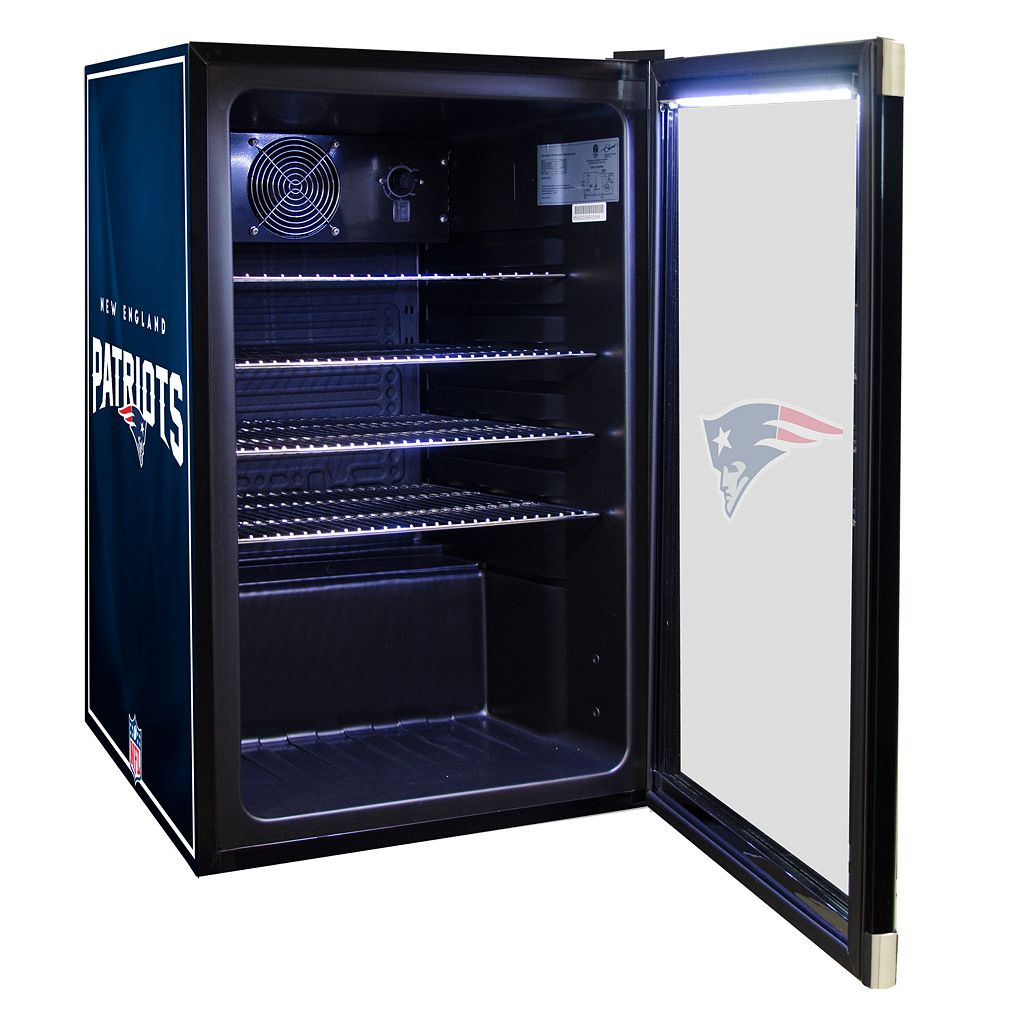 New England Patriots 4.6 cu. ft. Refrigerated Beverage Center