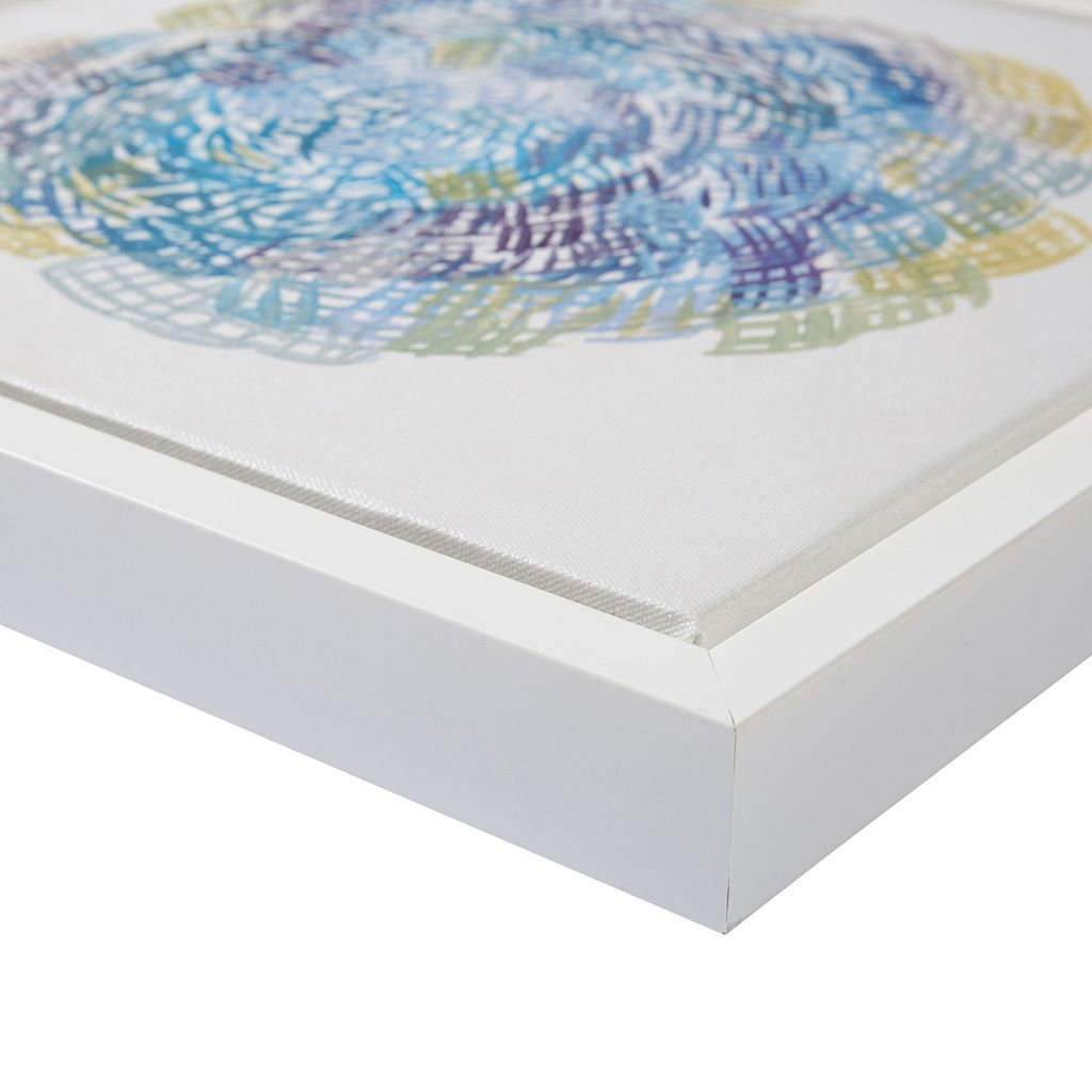 Intelligent Design Interwoven Framed Wall Art