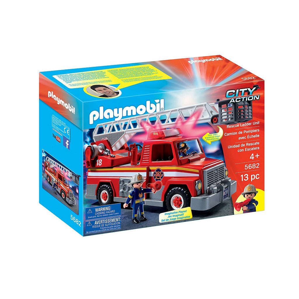 Playmobil Rescue Ladder Unit - 5682