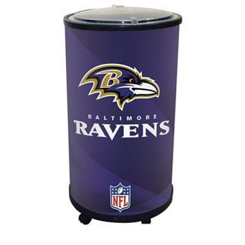 Baltimore Ravens Ice Barrel Cooler