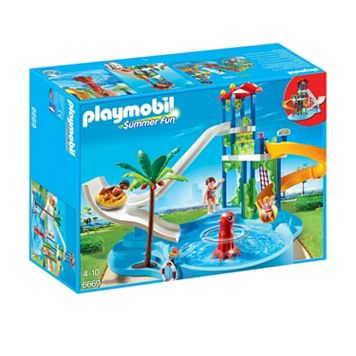 Playmobil Water Park Slides Set - 6669