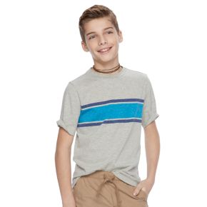 Boys 8-20 Urban Pipeline® Ultimate Chest-Striped Tee