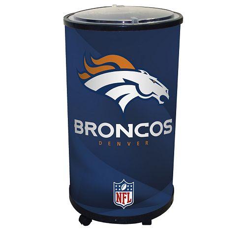 Denver Broncos Ice Barrel Cooler