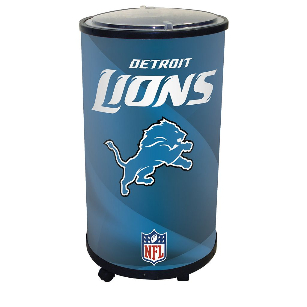 Detroit Lions Ice Barrel Cooler