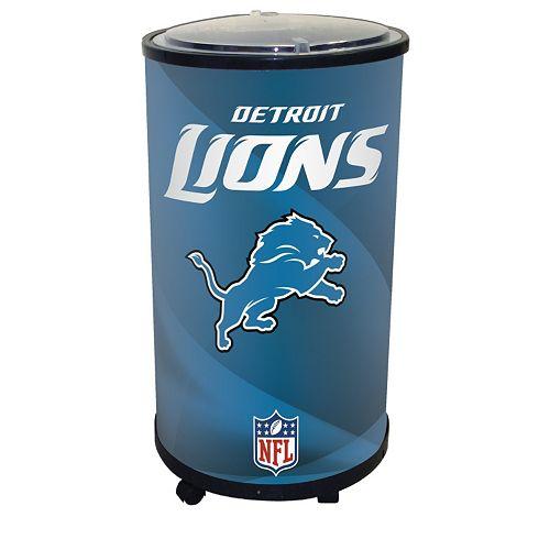 Detroit Lions Ice Barrel Cooler