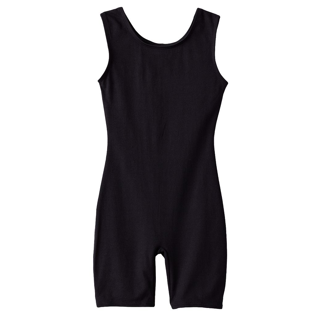 Girls 4-14 Jacques Moret Solid Dance Leotard