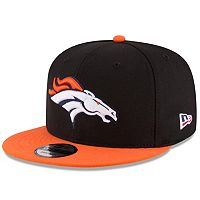 Men's New Era Denver Broncos 9FIFTY Flag Patch Snapback Cap