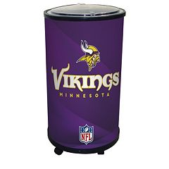 Minnesota Vikings Ice Barrel Cooler