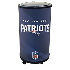 New England Patriots Ice Barrel Cooler